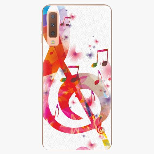 Plastový kryt iSaprio - Love Music - Samsung Galaxy A7 (2018)