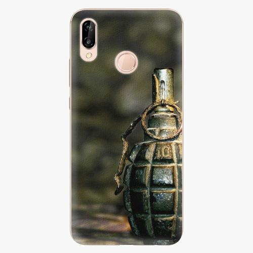 Plastový kryt iSaprio - Grenade - Huawei P20 Lite