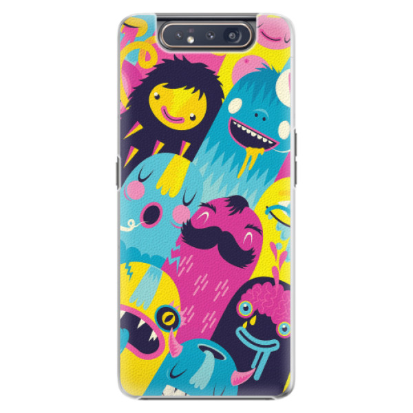 Plastové pouzdro iSaprio - Monsters - Samsung Galaxy A80