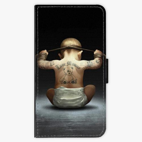 Flipové pouzdro iSaprio - Crazy Baby - Lenovo Moto G4 / G4 Plus