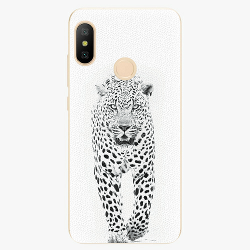 Silikonové pouzdro iSaprio - White Jaguar - Xiaomi Mi A2 Lite
