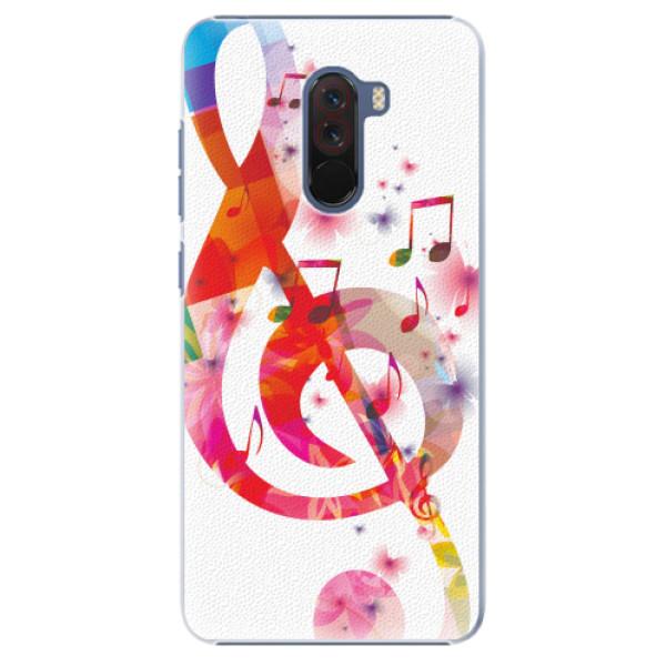 Plastové pouzdro iSaprio - Love Music - Xiaomi Pocophone F1
