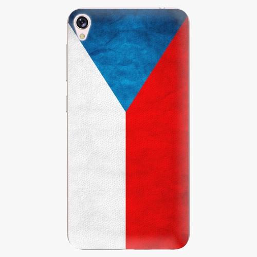 Plastový kryt iSaprio - Czech Flag - Asus ZenFone Live ZB501KL