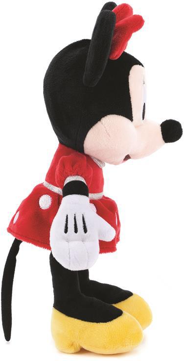 DINO PLYŠ Myška Minnie Mouse 30cm červené šaty *PLYŠOVÉ HRAČKY*