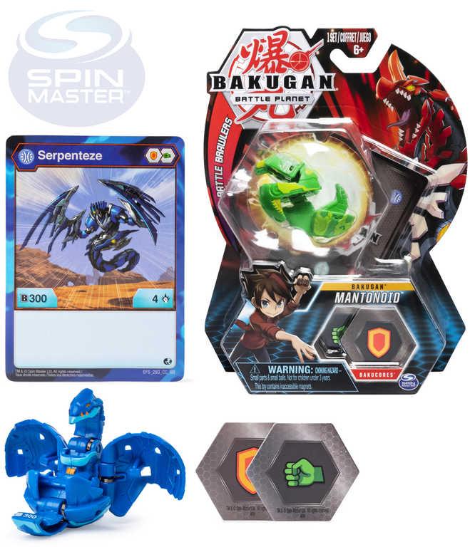 SPIN MASTER Bakugan základní balení set s kartou a 2 destičkami různé druhy