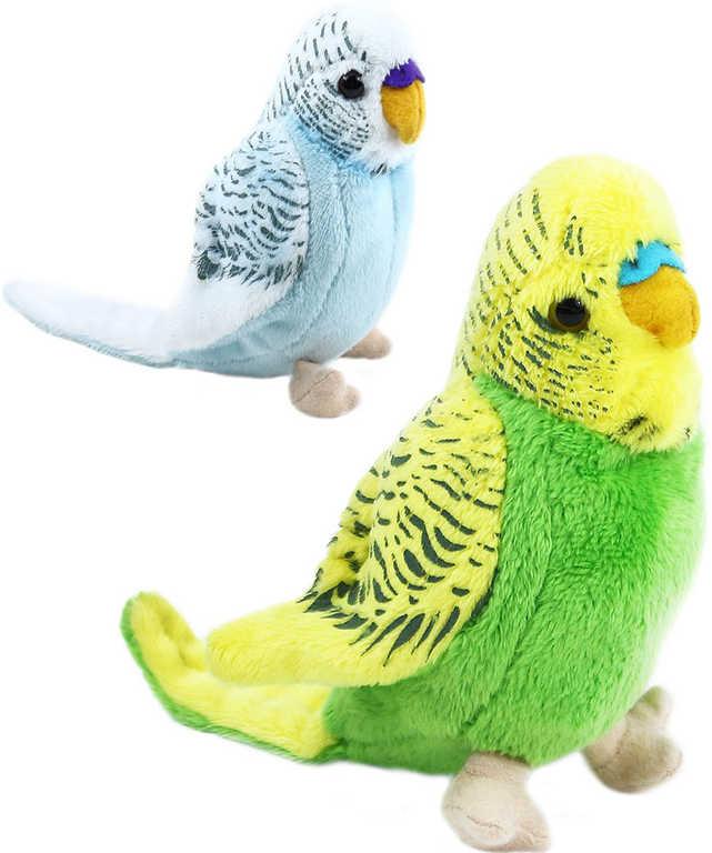 PLYŠ Andulka 12 cm plyšový ptáček - 2 barvy