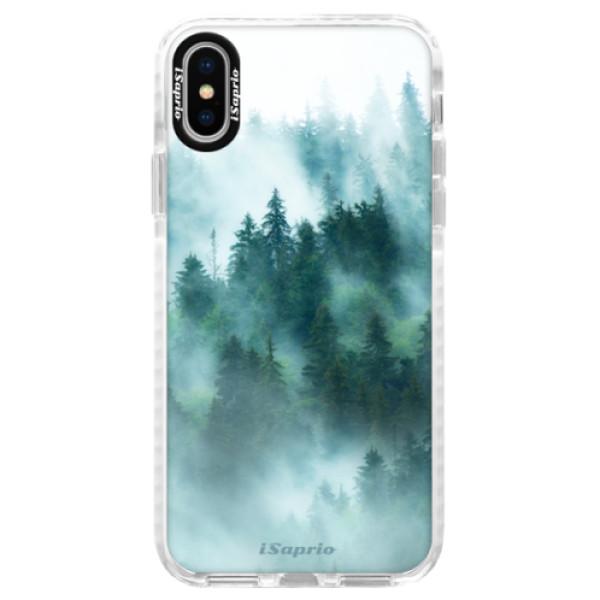 Silikonové pouzdro Bumper iSaprio - Forrest 08 - iPhone X