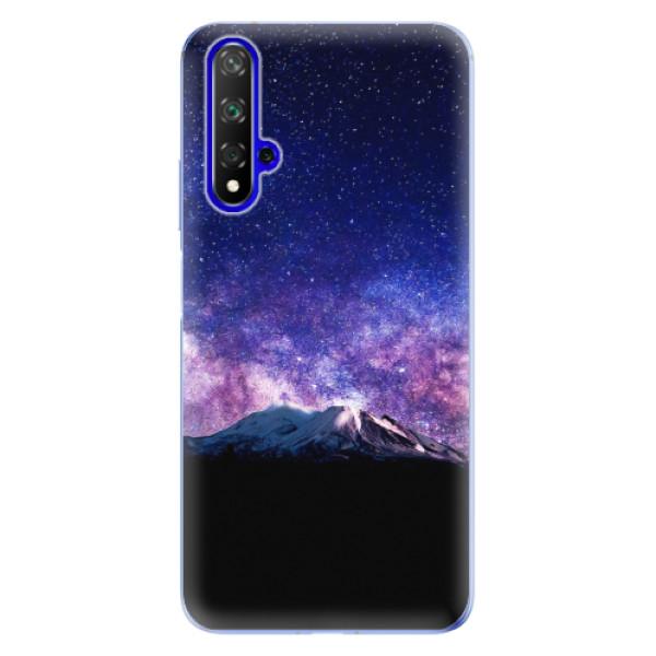 Odolné silikonové pouzdro iSaprio - Milky Way - Huawei Honor 20