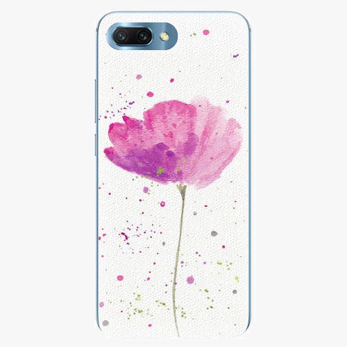 Silikonové pouzdro iSaprio - Poppies - Huawei Honor 10