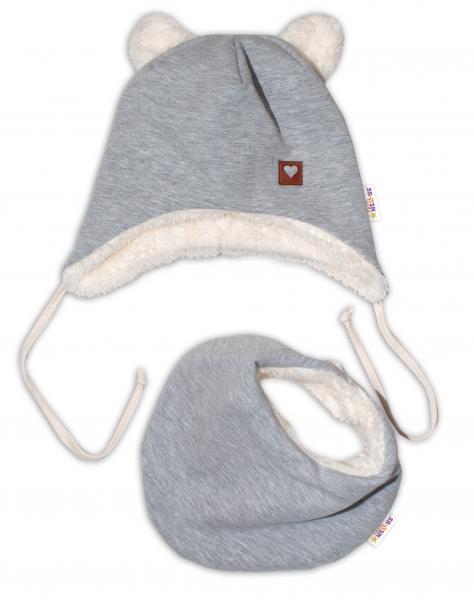 baby-nellys-zimni-koziskova-cepice-s-satkem-love-seda-vel-46-48-cm-46-48-cepicky-obvod