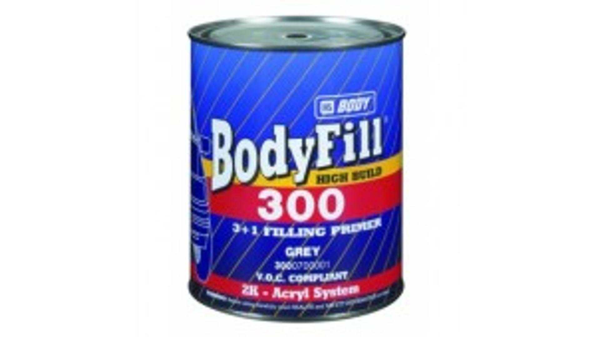 HB BODY fill 300 3:1 plnič šedý 1L