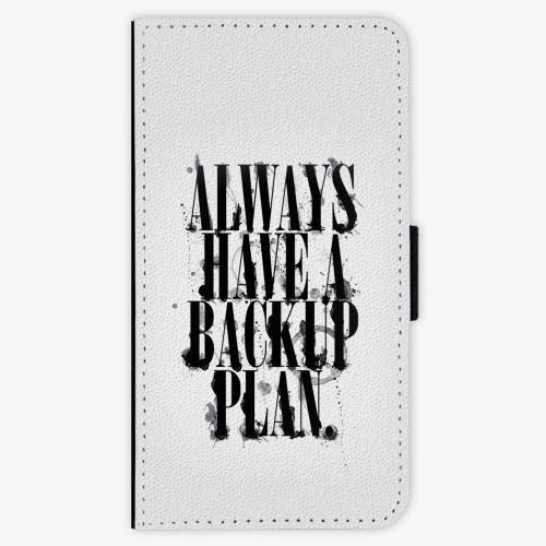 Flipové pouzdro iSaprio - Backup Plan - Samsung Galaxy A3