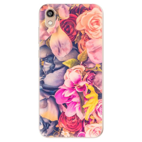 Odolné silikonové pouzdro iSaprio - Beauty Flowers - Huawei Honor 8S