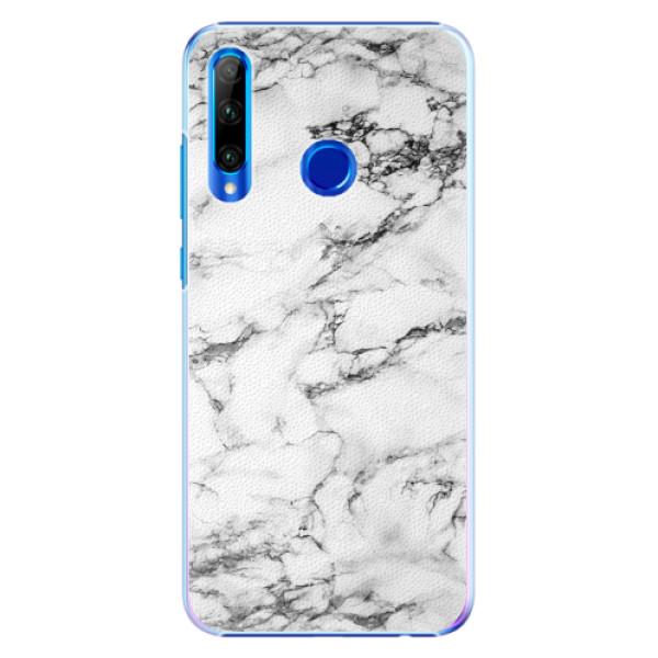 Plastové pouzdro iSaprio - White Marble 01 - Huawei Honor 20 Lite