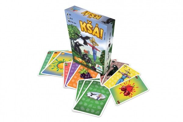 Teddies Společenská karetní hra Kšá!