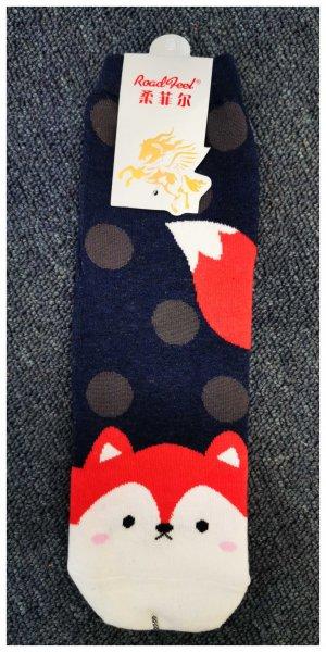 Ponožky s motivem zvířátek - Liška