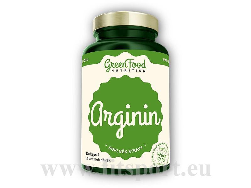 Arginin 120 vegan kapslí