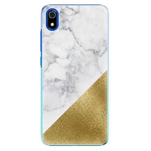 Plastový kryt iSaprio - Gold and WH Marble - Xiaomi Redmi 7A
