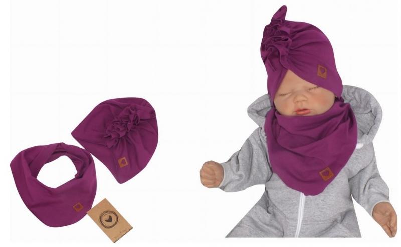 z-z-stylova-detska-jarni-podzimni-bavlnena-cepice-turban-s-satkem-svestka-48-52cm-48-52-cepicky-obvod