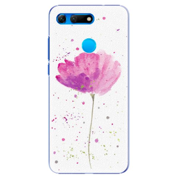 Plastové pouzdro iSaprio - Poppies - Huawei Honor View 20