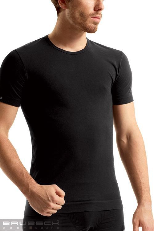 Pánské tričko SS 00990 Sleeve short black - Černá/M