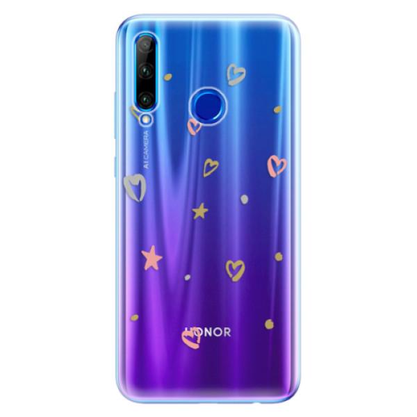 Odolné silikonové pouzdro iSaprio - Lovely Pattern - Huawei Honor 20 Lite