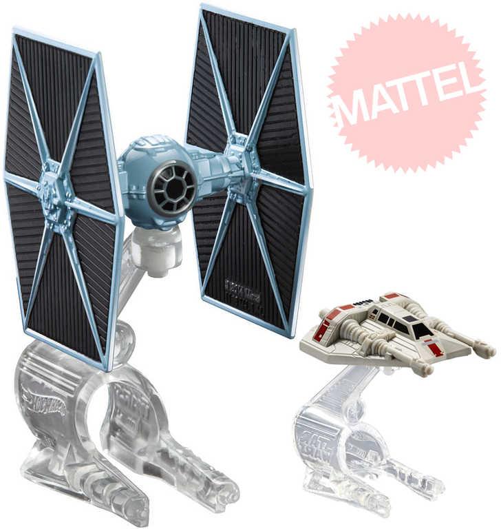MATTEL HOT WHEELS Loď hvězdné flotily Star Wars 4 druhy