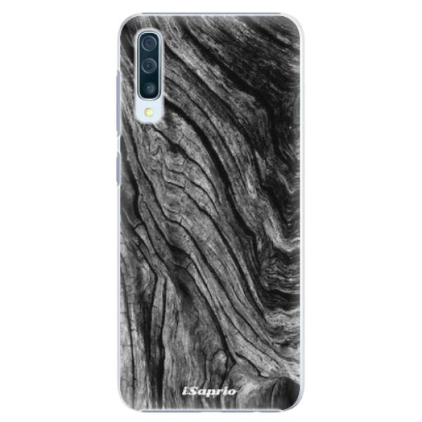 Plastové pouzdro iSaprio - Burned Wood - Samsung Galaxy A50