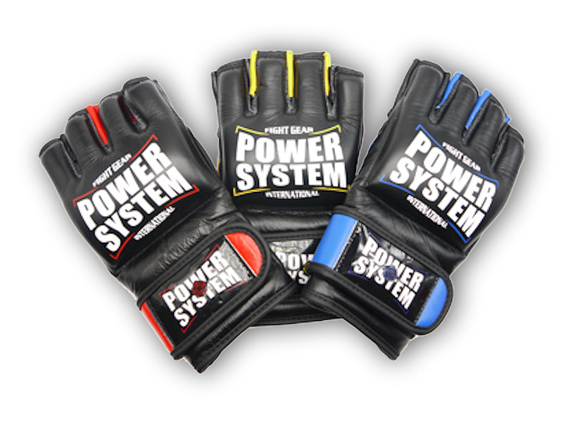 PowerSystem MMA rukavice KATAME - EVO-red-s-m