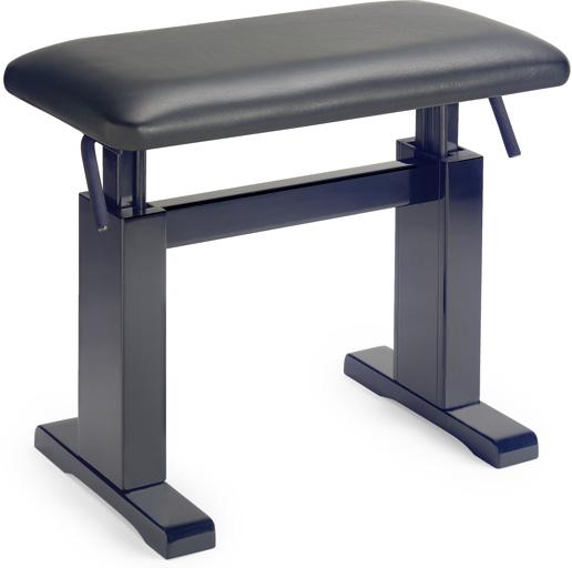 Stagg PBH 780 BKM LBK, hydraulická klavírní stolička