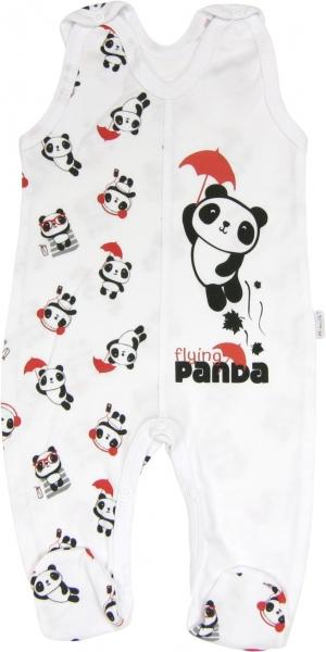 Kojenecké bavlněné dupačky Panda, roz.