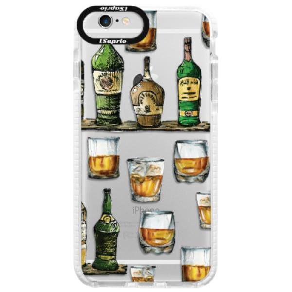 Silikonové pouzdro Bumper iSaprio - Whisky pattern - iPhone 6 Plus/6S Plus