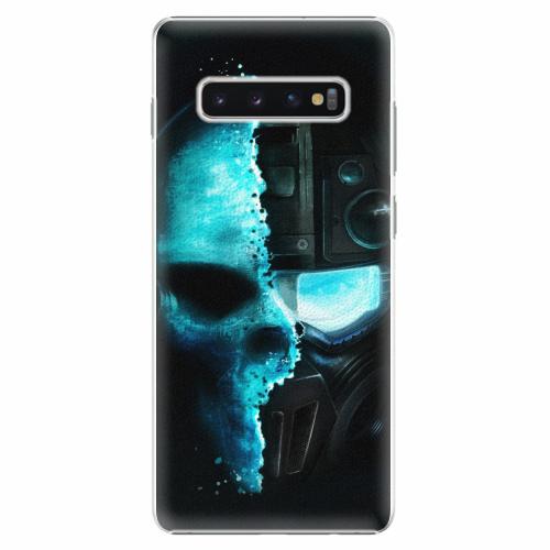 Plastový kryt iSaprio - Roboskull - Samsung Galaxy S10+