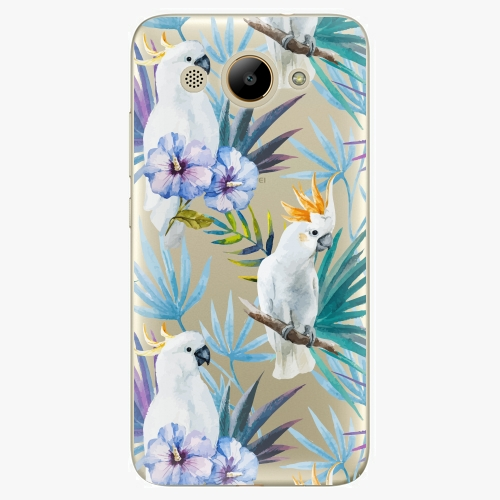 Plastový kryt iSaprio - Parrot Pattern 01 - Huawei Y3 2017