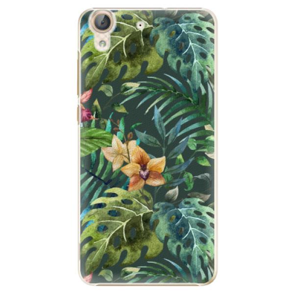 Plastové pouzdro iSaprio - Tropical Green 02 - Huawei Y6 II