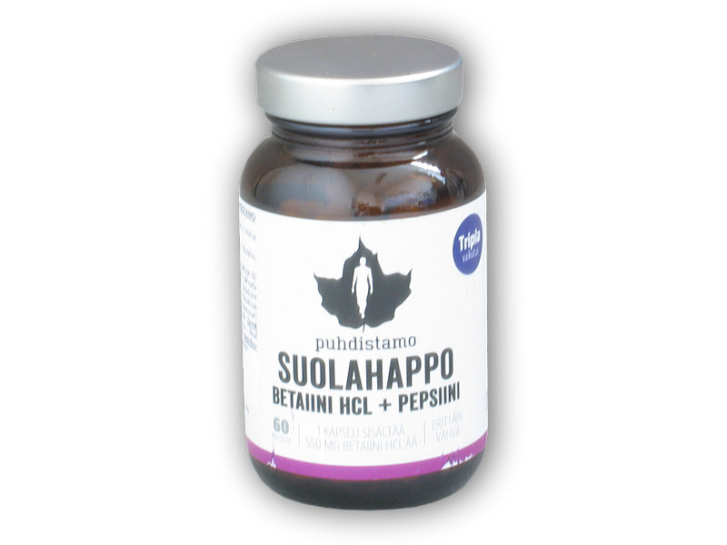 Betain HCL + Pepsin 60 kapslí