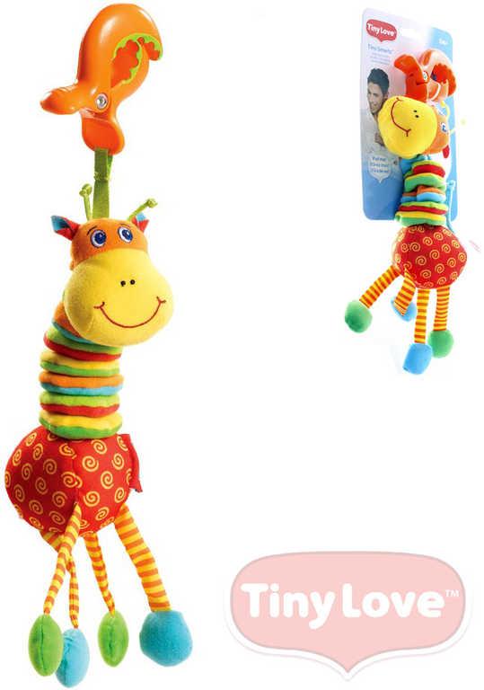 TINY LOVE Žirafa vyklepaná Chrastítko Na zavěšení BABY