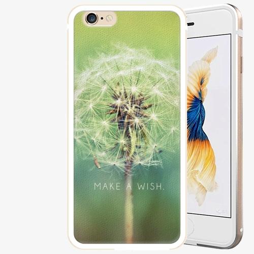 Plastový kryt iSaprio - Wish - iPhone 6 Plus/6S Plus - Gold