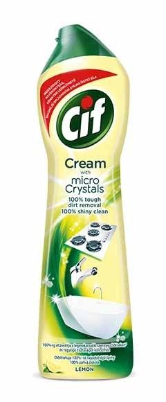 Cream Lemon krémový čisticí písek 500 ml