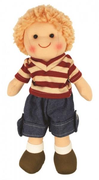 Hadrová panenka Tomášek, 27cm