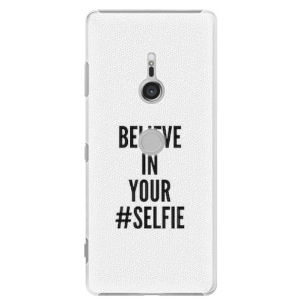 Plastové pouzdro iSaprio - Selfie - Sony Xperia XZ3