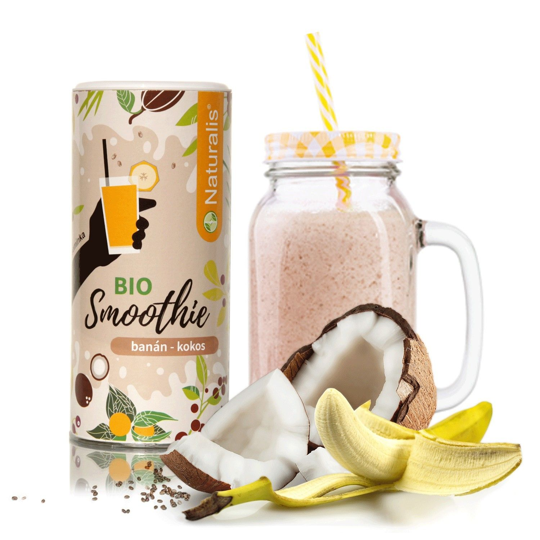 Smoothie Naturalis Banán a Kokos BIO - 180g