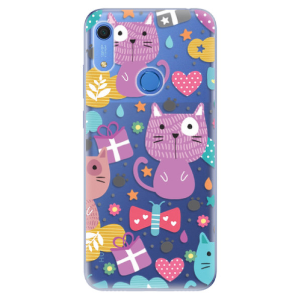 Odolné silikonové pouzdro iSaprio - Cat pattern 01 - Huawei Y6s
