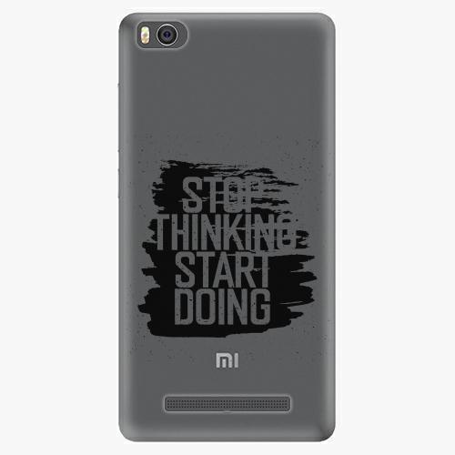 Plastový kryt iSaprio - Start Doing - black - Xiaomi Mi4C
