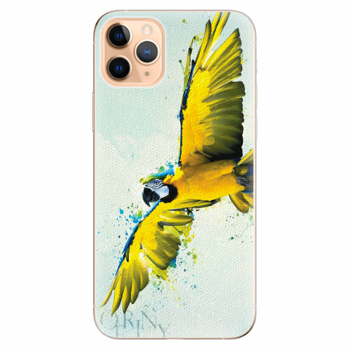 Silikonové pouzdro iSaprio - Born to Fly - iPhone 11 Pro Max