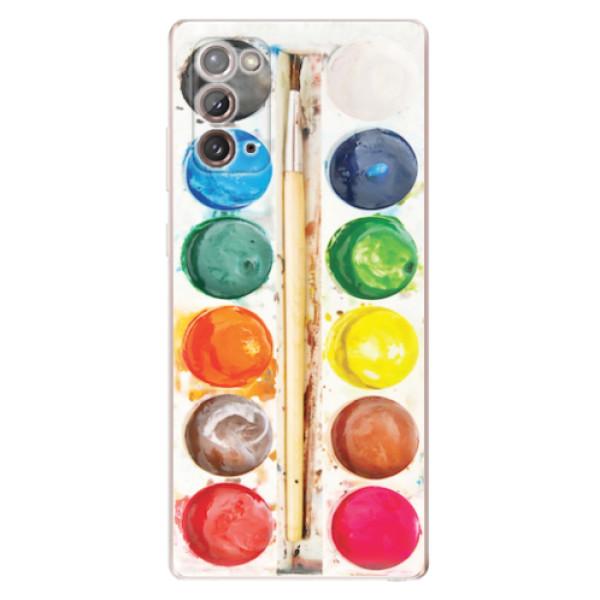 Odolné silikonové pouzdro iSaprio - Watercolors - Samsung Galaxy Note 20