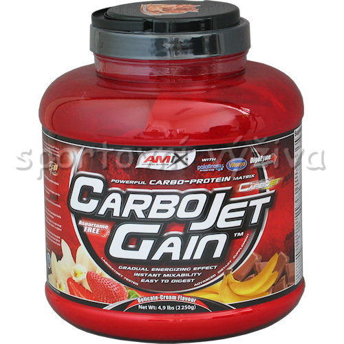 CarboJet Gain - 2250g-banana