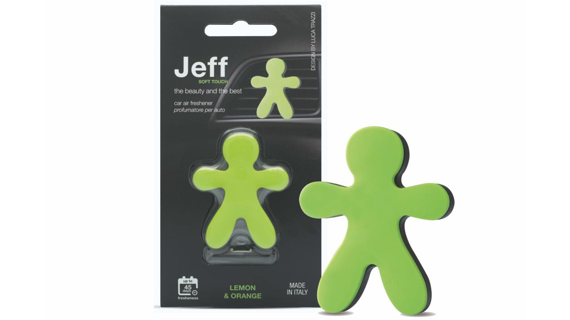 JEFF air freshener green soft - Lemon & Orange