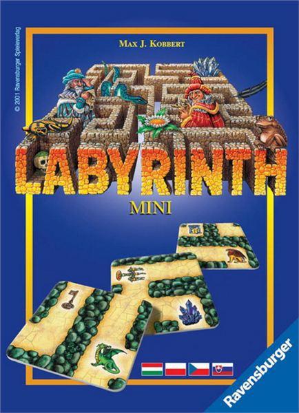 RAVENSBURGER Dětská hra Labyrinth (Labyrint) mini *SPOLEČENSKÉ HRY*