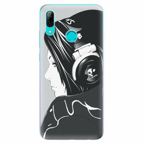 Silikonové pouzdro iSaprio - Headphones - Huawei P Smart 2019